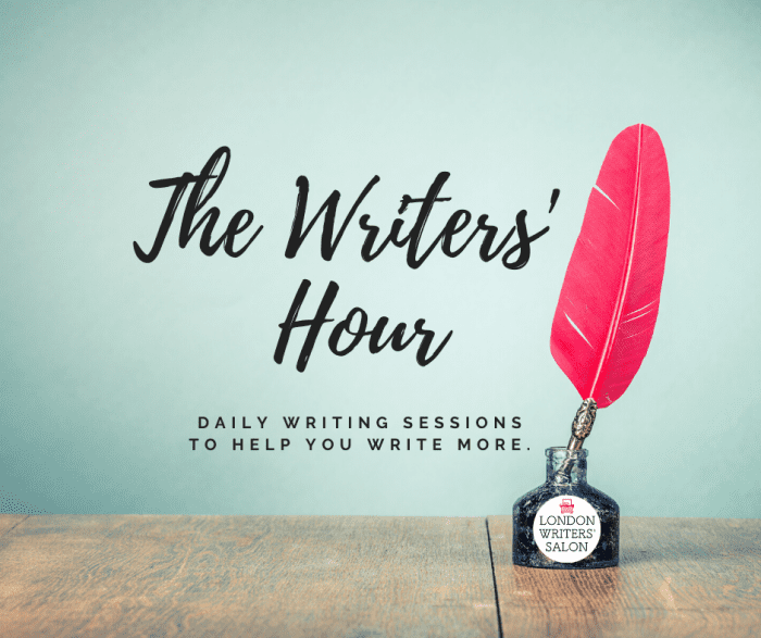 writers hour
